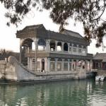 El barco de mármol del Palacio de Verano de Pekín