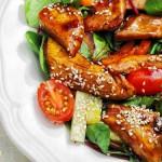 Como preparar ensalada de pollo y sésamo
