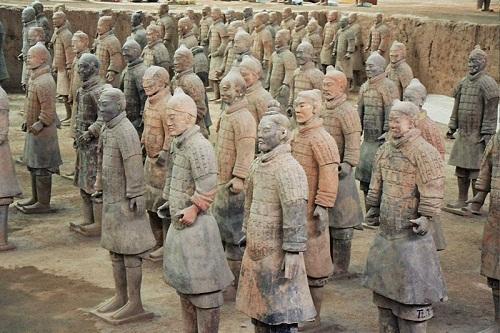 Guerreros de Terracota Dinastia Qin