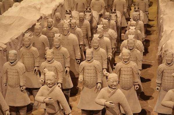 Ejército de guerreros de terracota