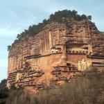 Las grutas de Maijishan, en Tianshui