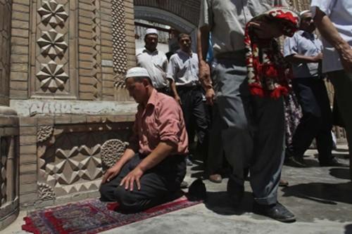 Musulmanes en Kashgar