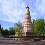 La Pagoda del Caballo Blanco en Dunhuang