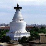 La pagoda Blanca y sus alrededores, en Beijing