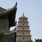 La pagoda de la Gran Oca Salvaje, en Xian