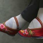 La tradición china de los pies vendados