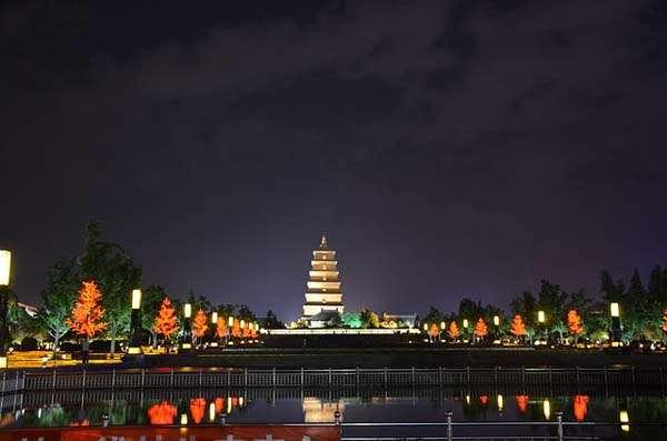 Pagoda del Ganso Salvaje en Xian