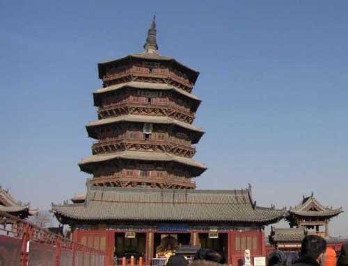 Yingxian Pagoda de Madera