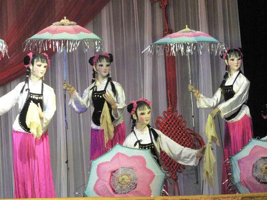 Teatro chino de titeres, un entretenimiento milenario