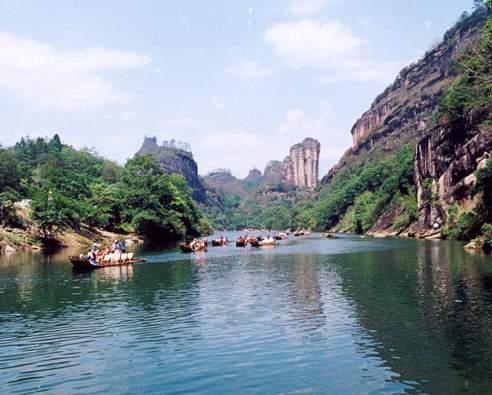 Montaña Wuyi, una leyenda por cada paisaje
