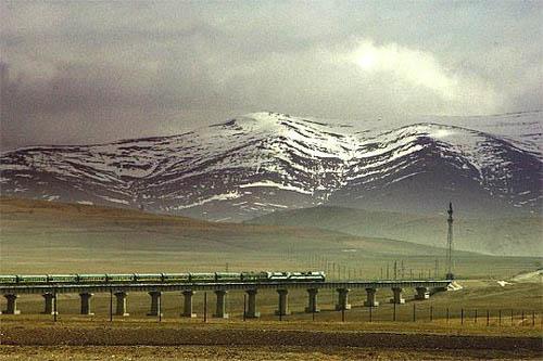 El viaje en tren a Lhasa desde Pekin