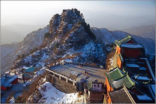 La Montaña Wudang y el complejo de edificios antiguos