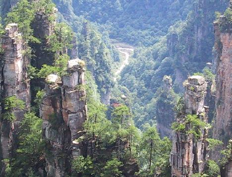 Wulingyuan, atractivo turistico en China