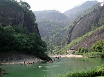 Montaña Wuyi