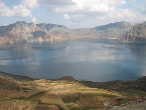 Lago Celestial, en Changbaishan.