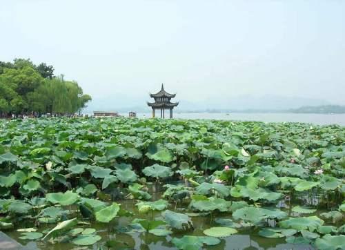 El Lago del Oeste, en Hangzhou