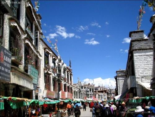 Calle Barkhor, orgullo de los tibetanos