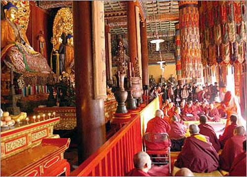 Budistas en China