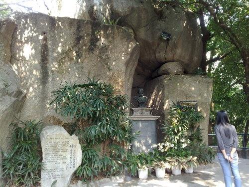 Jardín Camoes, símbolo de fraternidad