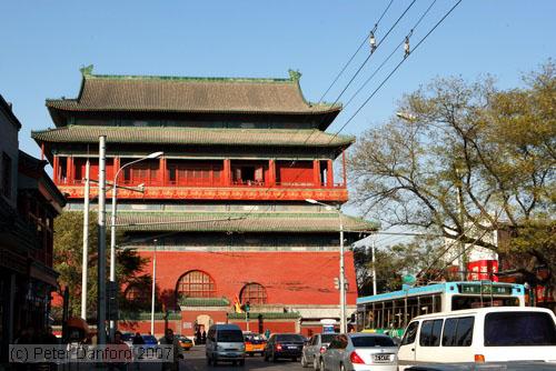 Torre del Tambor en Beijing
