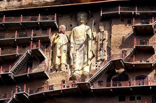 Esculturas en las Cuevas Maiji