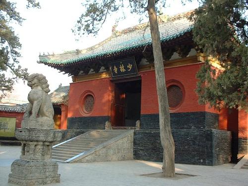Templo de Shaolin, famoso por su kung fu
