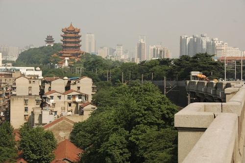 Torre de la grulla amarilla, símbolo de Wuhan