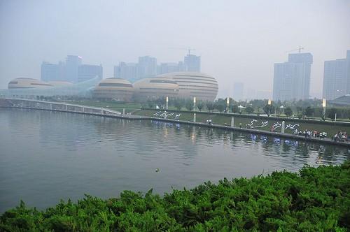 Zona Turística del Río Amarillo en Zhengzhou