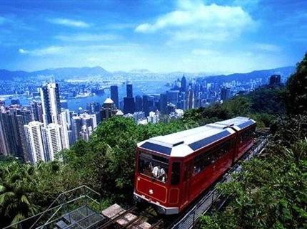 Tranvia en Hong Kong