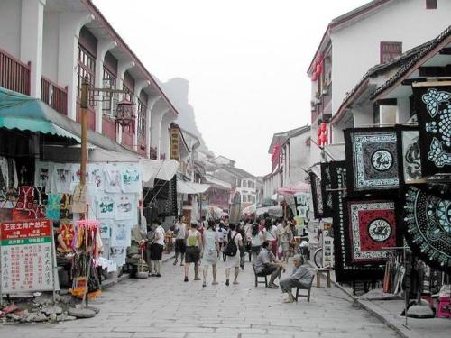 Calle Oeste en Yangshuo