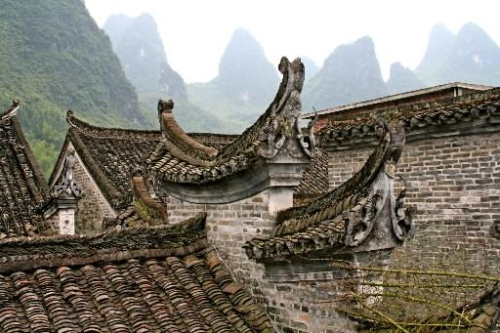Villa de pescadores Xingping