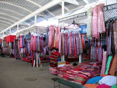 Bazaar de Kashgar