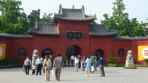Templo del Caballo Blanco, cuna del Budismo