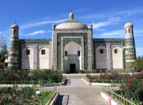 La tumba de Abakh Khoja y su historia de amor