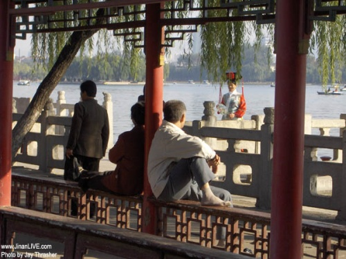 Parque Lago Daming, centro para visitar en Jinan