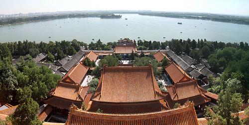 Palacio de Verano de Beijing, jardín del Edén