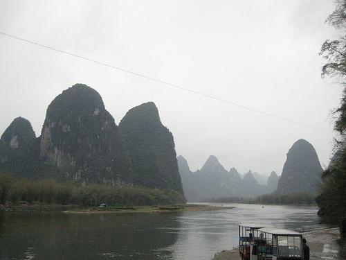 Cruceros por el Río Li en Guangxi
