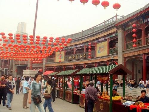 Calle cultural antigua de Tianjin