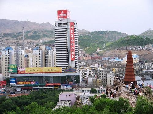 Monte Rojo, la mitad del dragón de Urumqi