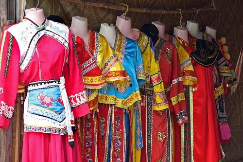 Pien Fu vestido ceremonial chino