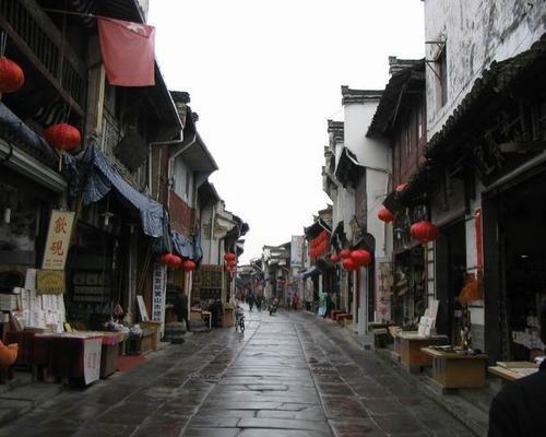 Calle antigua de Tunxi, historia en Huangshan
