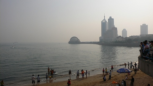 Playa de Huiquan, la más grande de Asia