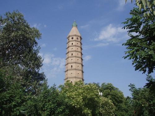 Pagoda Chengtiansi, con sonidos para inspirar