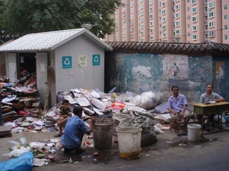 Reciclaje popular en China