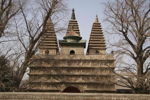 Templo de las Cinco Pagodas
