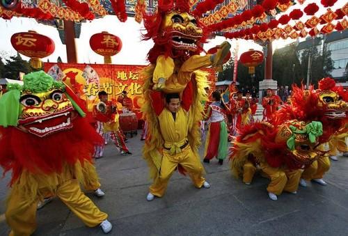 China da la bienvenida al año del Dragón
