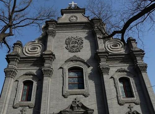 La iglesia del Sur, la más antigua de Beijing