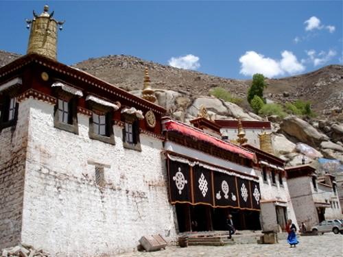 Monasterio de Sera en Tibet