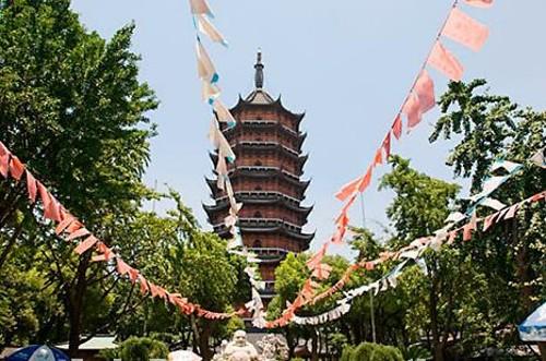 Pagoda del templo Norte en Suzhou