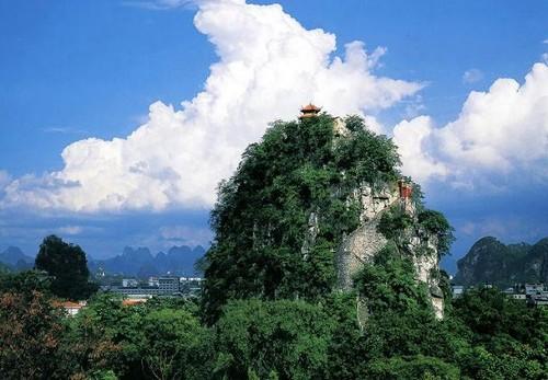 Pico de la Belleza Solitaria en Guilin